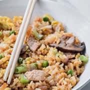 Healthy Pork Fried Rice | Low Sodium & High Flavor