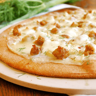 Roasted Fennel and Italian Sausage Pizza