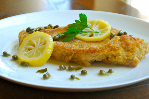 Chicken Picatta recipe and images by Lacey Baier, a sweet pea chef