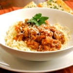 Spaghetti with Meat Sauce Square Recipe Preview Image