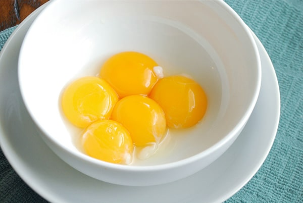 Easy Creme Brulee - Egg Yolks