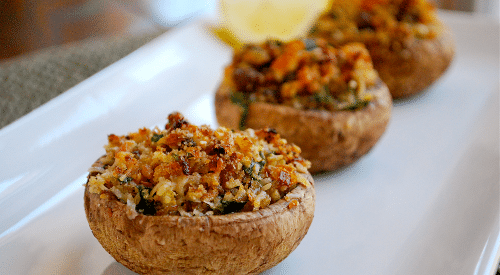 garlic-stuffed-mushrooms