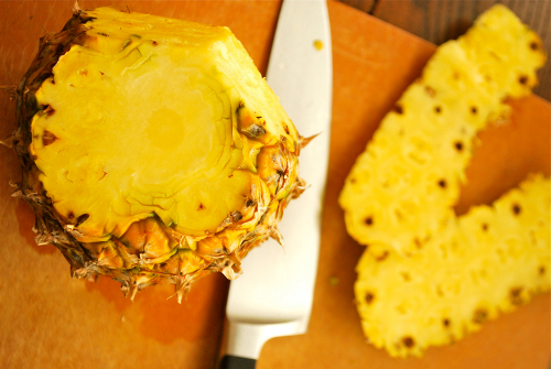 Pineapple Coconut Ice Cream recipe and images by Lacey Baier, a sweet pea chef