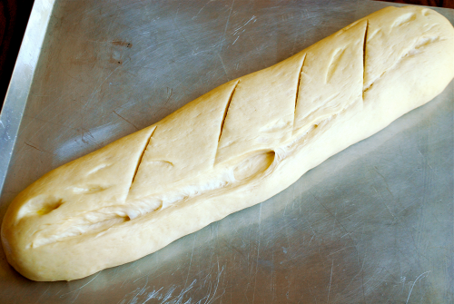 French Baguette recipe and images by Lacey Baier, a sweet pea chef