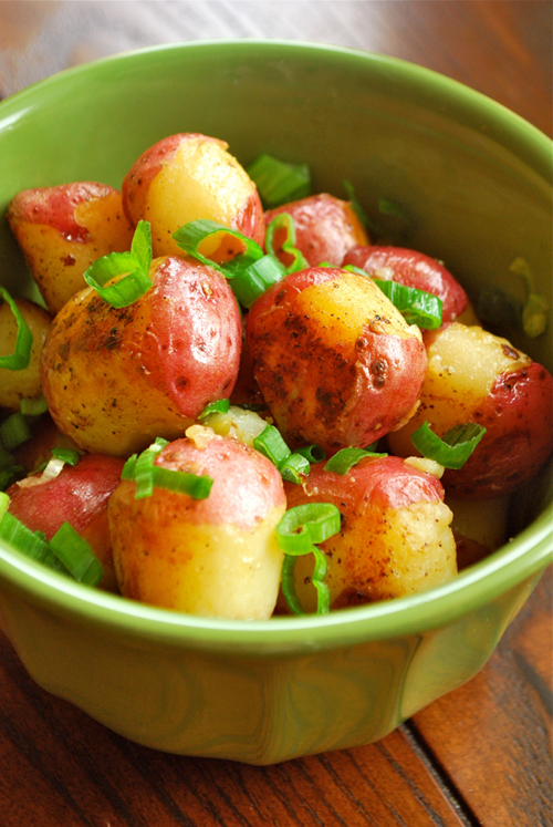 Sauteed Baby Red Potatoes - Bikinis!