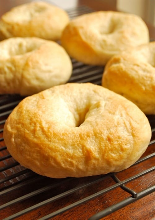 Homemade Bagel Recipe by Lacey Baier, a sweet pea chef