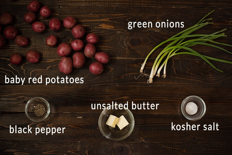 Sauteed Baby Red Potatoes - Ingredients