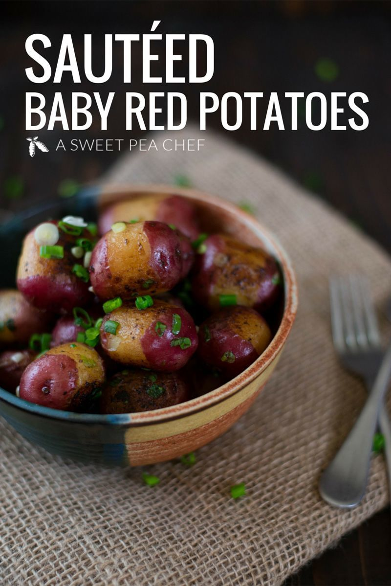 Sauteed Baby Red Potatoes