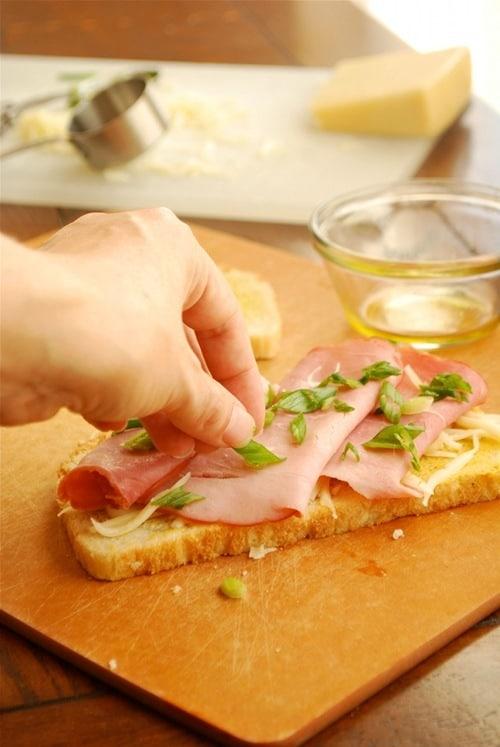 Ham and Gruyere Panini • A Sweet Pea Chef