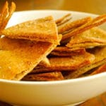 Baked Pita Chips Square Recipe Preview Image