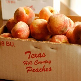 Fresh Peach Jam recipe and images by Lacey Baier, a sweet pea chef