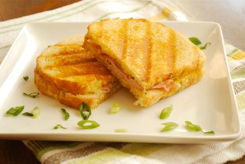 Ham and Gruyere Panini