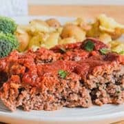 Healthy Meatloaf | With A Tasty Glaze