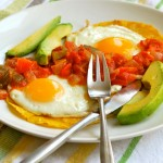 Juevos Rancheros recipe and images by Lacey Baier, a sweet pea chef