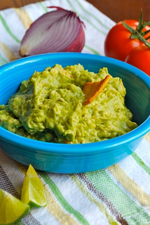 The Perfect Guacamole recipe and images by Lacey Baier, a sweet pea chef