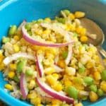 Edamame, Corn and Quinoa Salad Square Recipe Preview Image