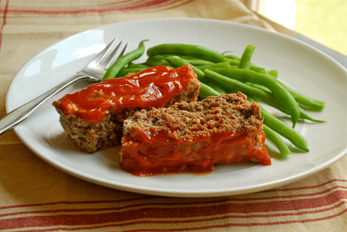 Meatloaf recipe and images by Lacey Baier, a sweet pea chef