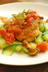 Chicken Cacciatore by Lacey Baier, a sweet pea chef