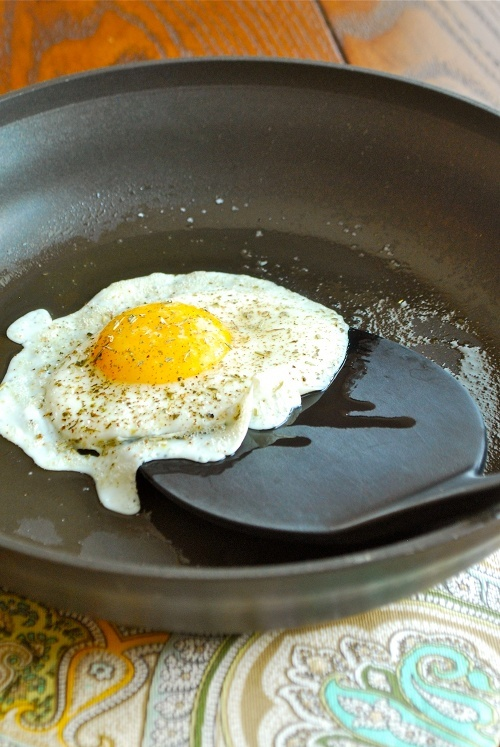 How To Fry An Egg by Lacey Baier, a sweet pea chef
