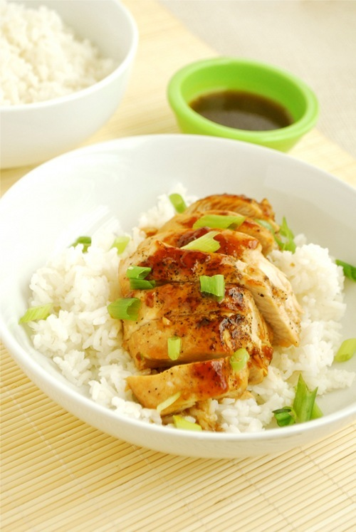 Teriyaki Chicken recipe and images by Lacey Baier, a sweet pea chef