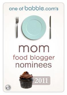 Babble's Food Blogger Awards