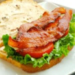 BLT with Chipotle Mayo Square Recipe Preview Image