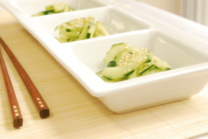 Cucumber Salad by Lacey Baier, a sweet pea chef
