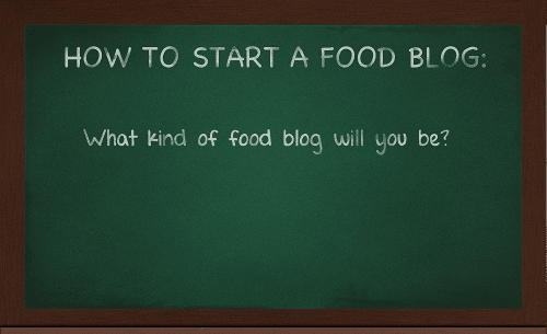 How To Start A Food Blog by Lacey Baier, a sweet pea chef