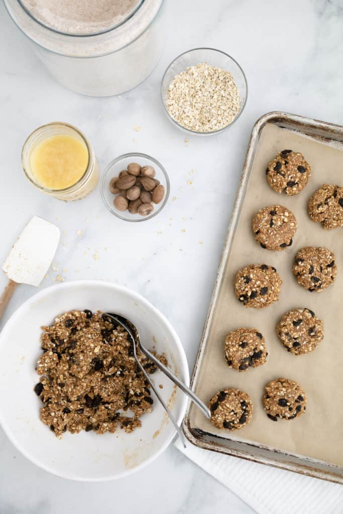 Healthy Oatmeal Raisin Cookies | Divinely Soft & Chewy