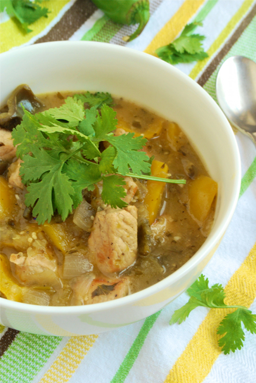 Chile Verde recipe and images by Lacey Baier, a sweet pea chef