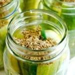 Homemade Dill Pickles Square Recipe Preview Image
