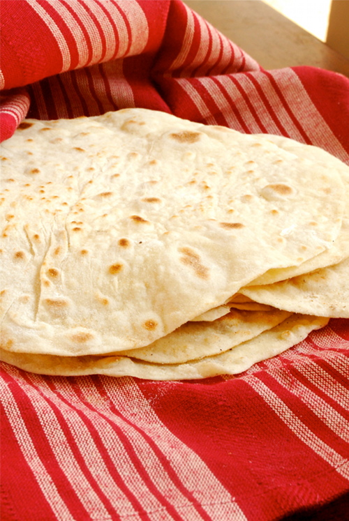 Homemade Tortillas recipe by Lacey Baier, a sweet pea chef