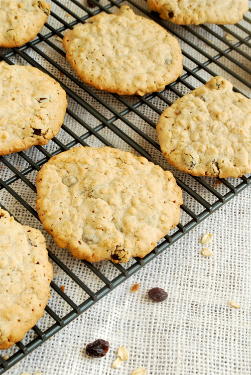 Oatmeal Raisin Cookies recipe and images by Lacey Baier, a sweet pea chef