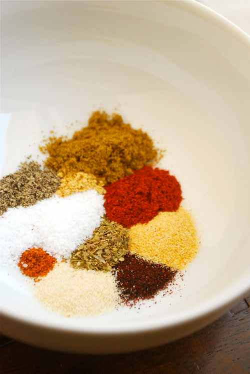 Homemade Taco Seasoning Mix recipe and images by Lacey Baier, a sweet pea chef