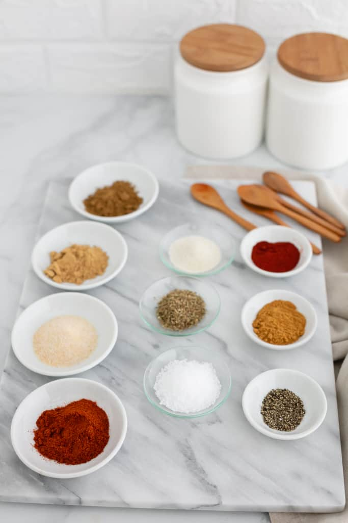 Are you looking for a taco mix free of ingredients like MSG, partially hydrogenated soybean oil, and silicon dioxide? Make this homemade taco seasoning mix for a preservative-free spice mix. Bonus: it's super versatile and tastes amazing!