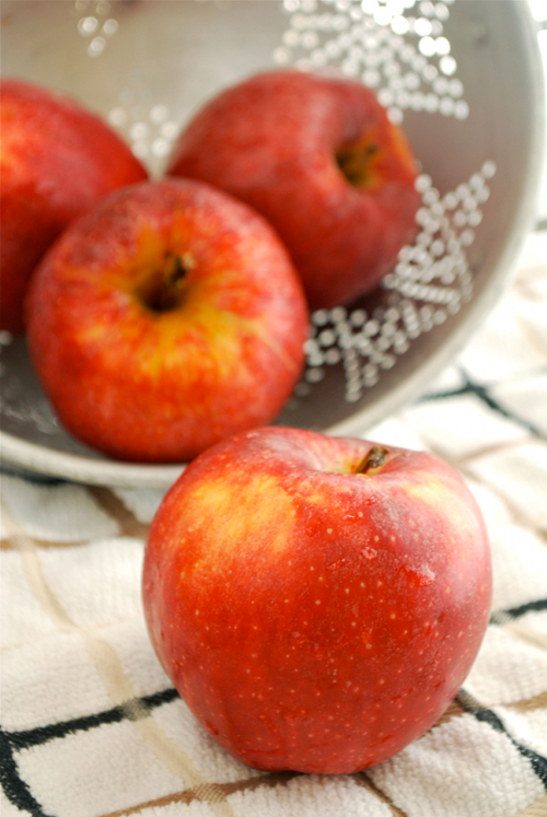 Cinnamon Apples recipe and images by Lacey Baier, a sweet pea chef