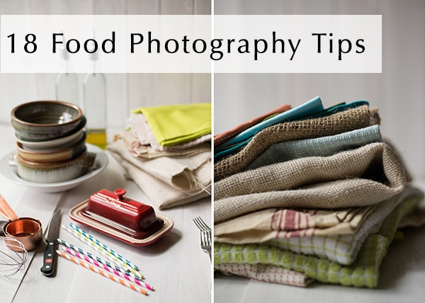 18 Food Photography Tips
