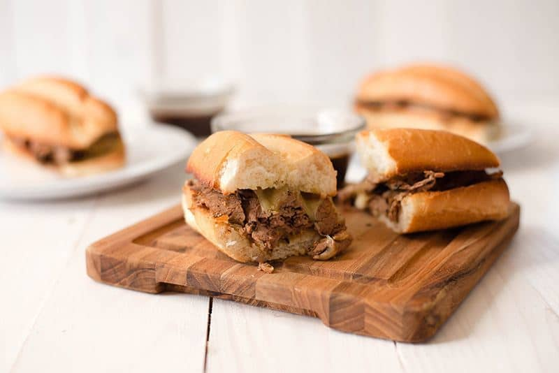 French Dips With Homemade Au Jus