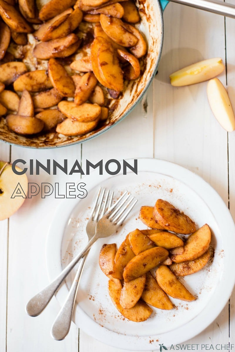 How To Make Cinnamon Apples | Easy, clean-easting, and fast cinnamon apples.