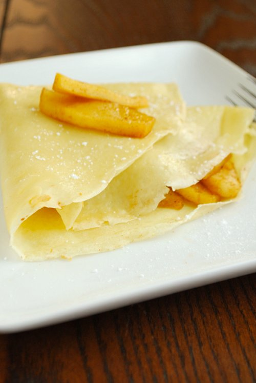 Crepes recipe and images by Lacey Baier, a sweet pea chef