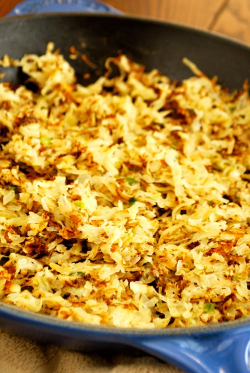 Hash Browns recipe and images by Lacey Baier, a sweet pea chef