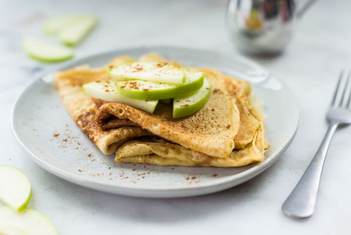 Homemade Healthy Crepes Way Easier Than You D Think A Sweet Pea Chef