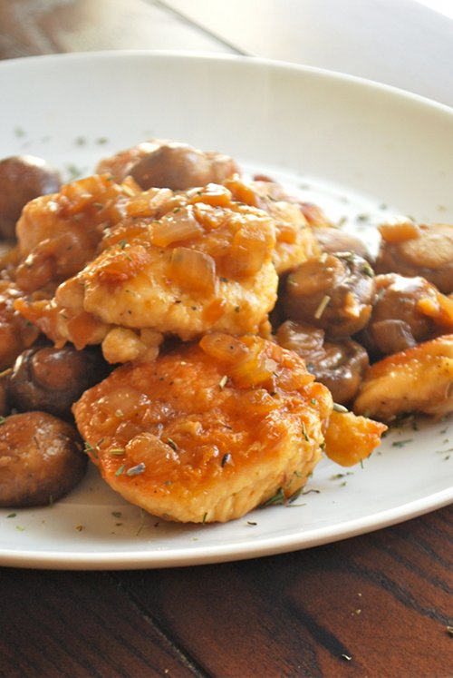 Easy Chicken Marsala by Lacey Baier, a sweet pea chef