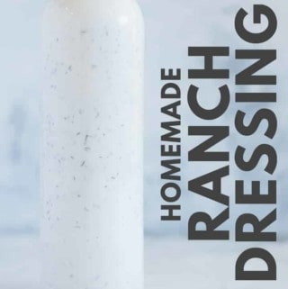 The Best Homemade Ranch Dressing (With Greek Yogurt!)