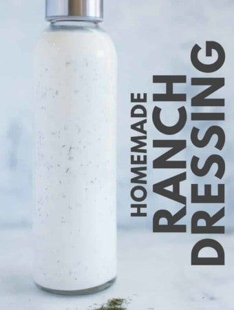 We all love foods that are fresh and zesty, and most importantly, good for you! This recipe for Greek Yogurt Ranch Dressing is packed full of clean eating, healthy ingredients and the perfect solution to your cravings, folks! Replace highly processed, store-bought dressing with this easy recipe that will soon be on your family's gotta-have-with-dinner list!