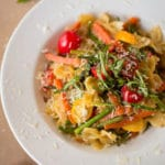 Pasta Primavera Square Recipe Preview Image