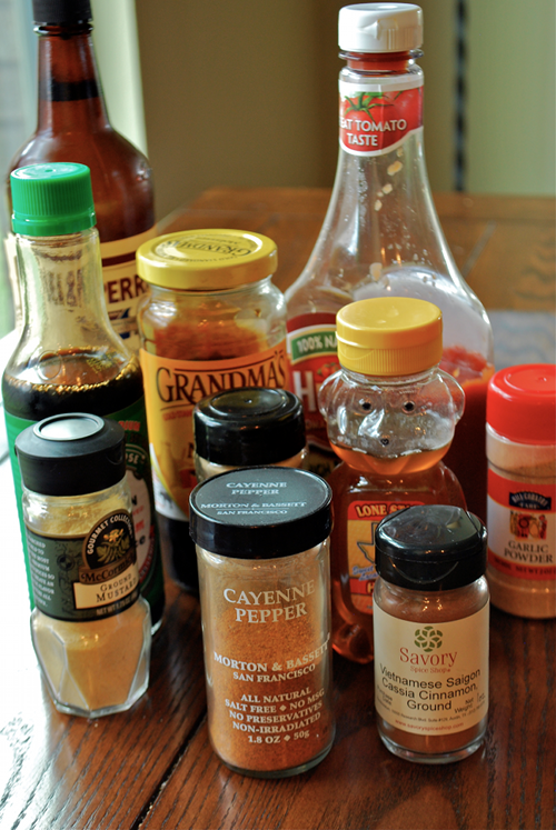 Sweet BBQ Sauce recipe and images by Lacey Baier, a sweet pea chef