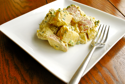 Potato Salad by Lacey Baier, a sweet pea chef