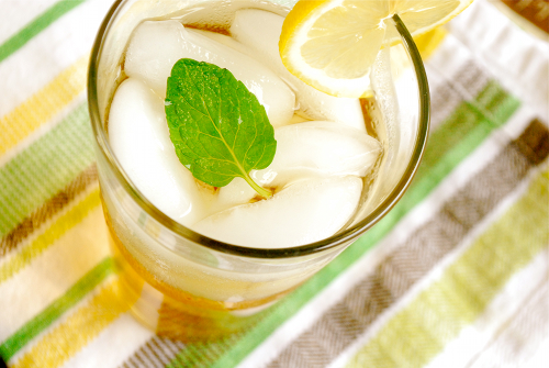 Sweet Tea with Mint by Lacey Baier, a sweet pea chef