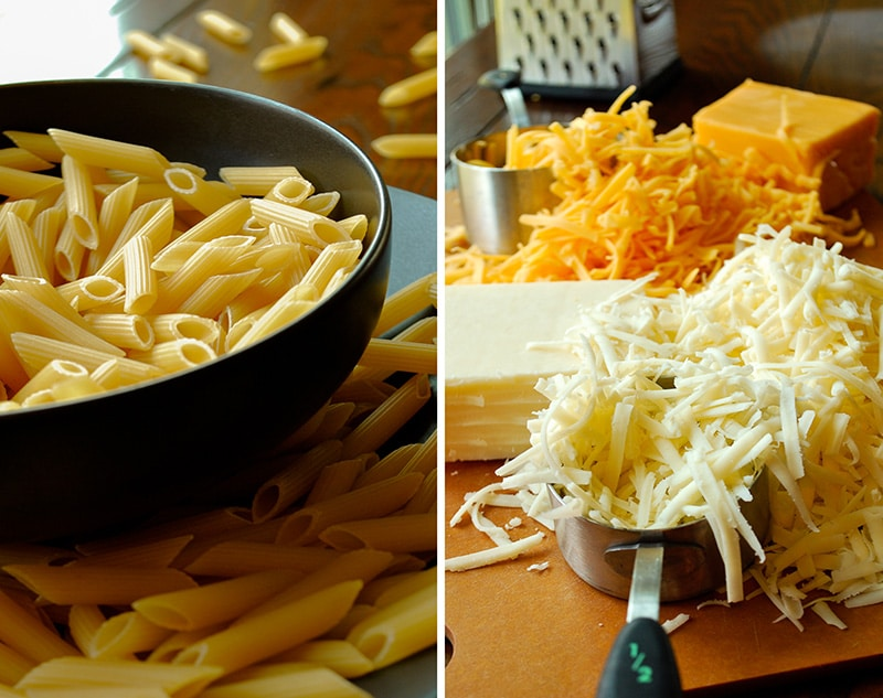 Baked Mac 'n Cheese - Noodles and Cheese